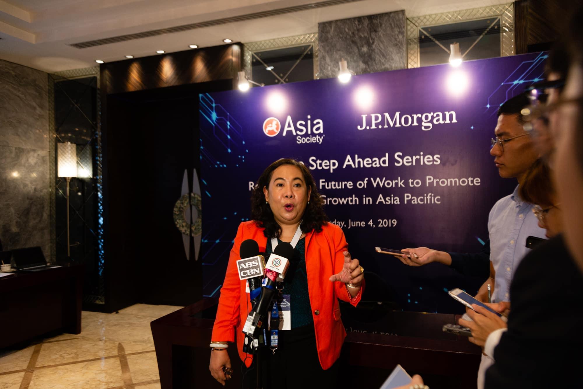 One Step Ahead JP Morgan Asia Society Evident 010 - Evident PH